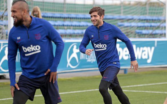 Training in Vitoria